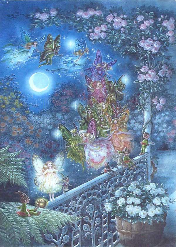 Faerie Girl Wallpaper Shirley Barber Faerie Sight
