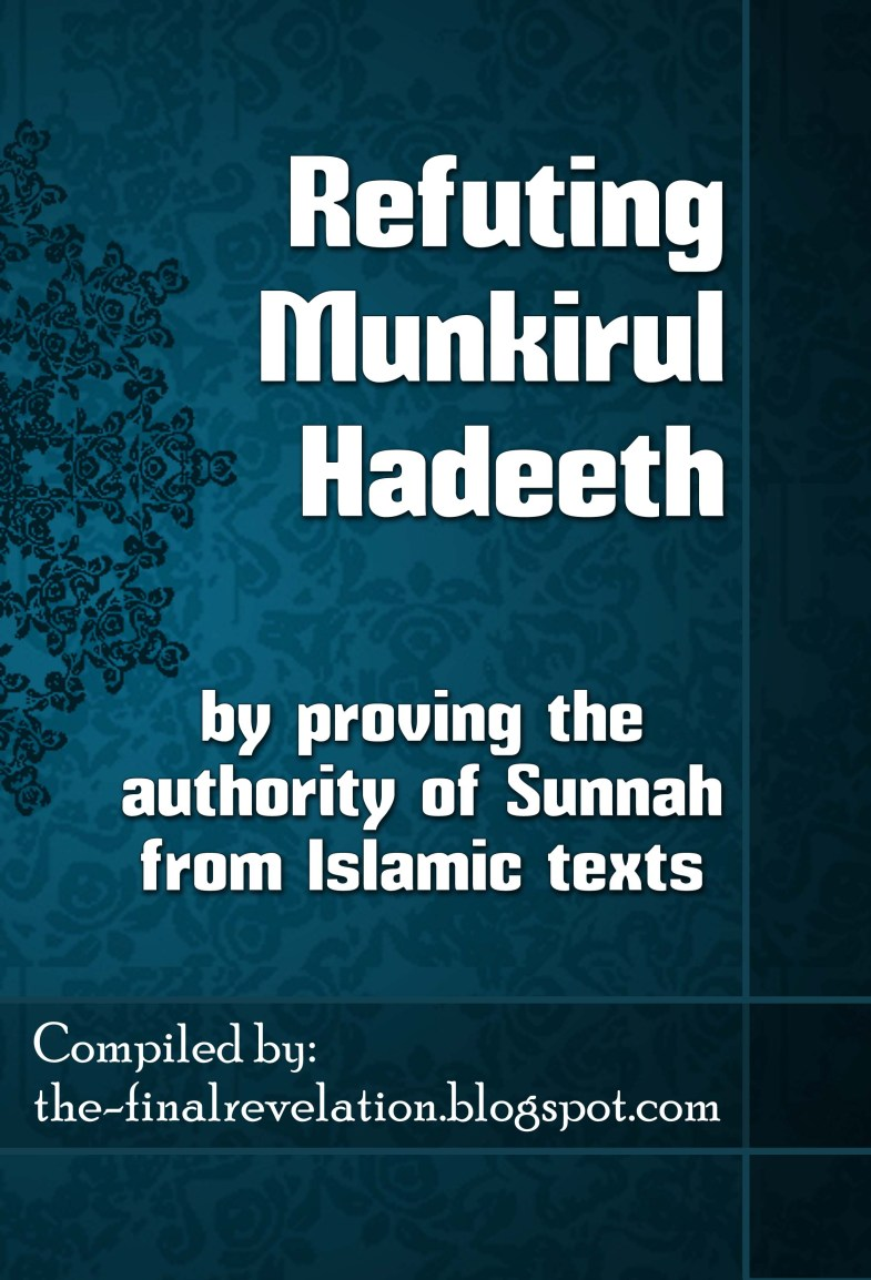 new Refuting Munkarul Hadeeth cover