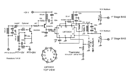 low power amplifier circuit