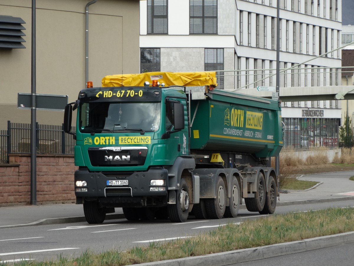 Recycling Heidelberg Man Tgs Von Orth Recycling Am 06 03 15 In Heidelberg