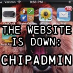 Chipadmin, TheWebSiteIsDown