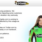 godaddy owned main site