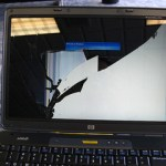 hp cracked screen