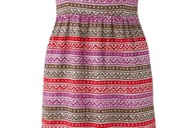Kleid-aus-handbedruckter-Baumwolle