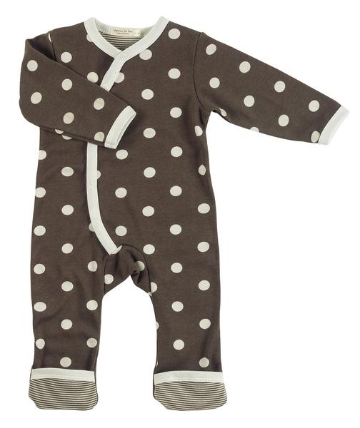Babystrampler mit Punkten