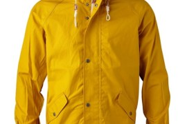 Regenjacke aus Bio-Cotton