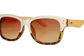 Sonnenbrille aus recycelten Materialien