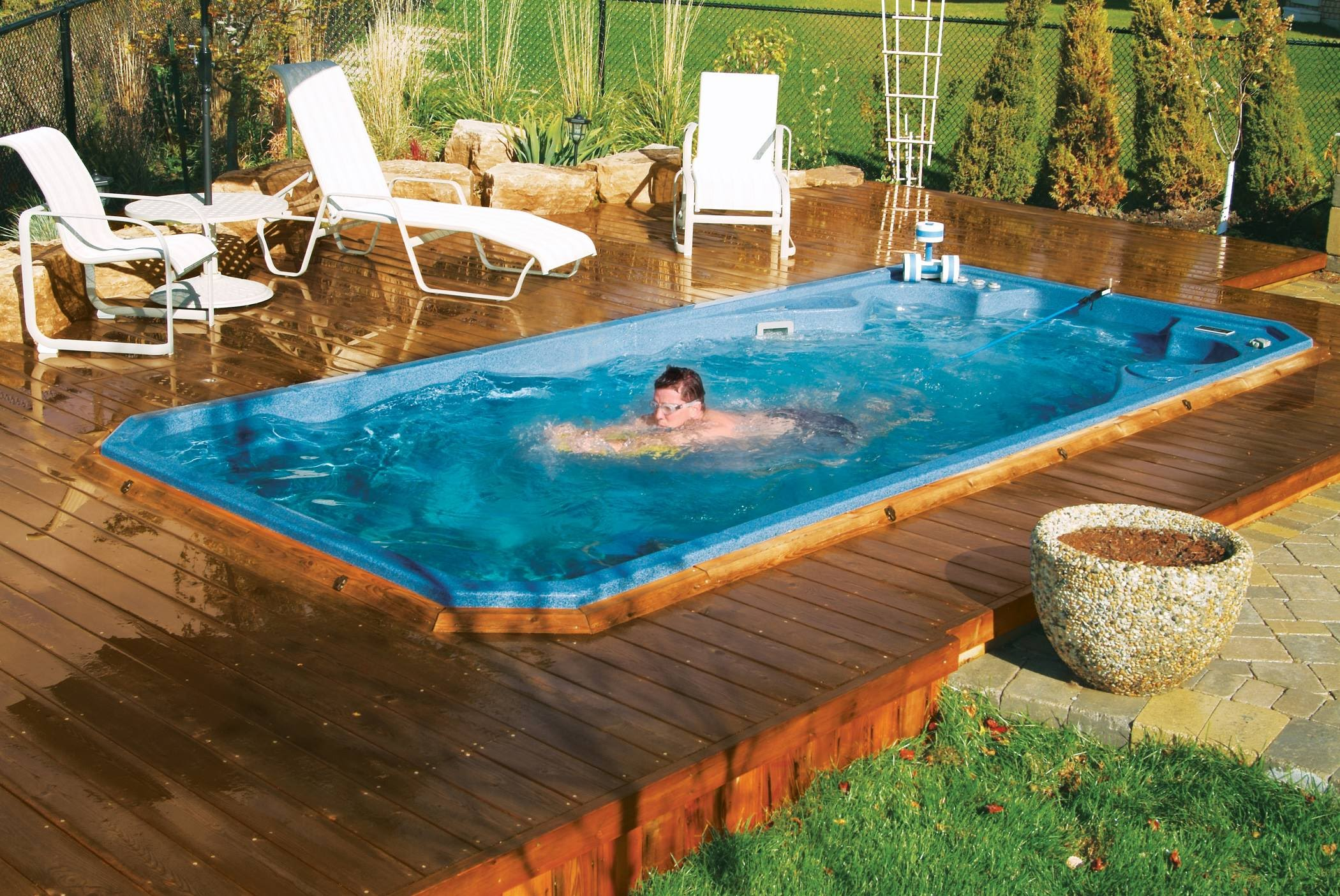 Jacuzzi Endless Pool Swim Spas Fairfax Hot Tubs Inc
