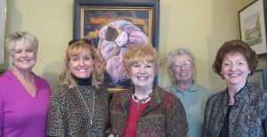 Pictured above is Dianne Traylor, Charlotte Rierson, Willa Wells, Bonnie Hookman and Wilba Thompson.