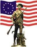 Flag Militia Man