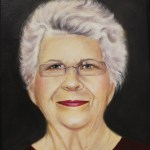 Wilson Demonstrates Portrait Painting With Oils