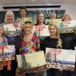 Artist League Sponsors Watercolor  Landscape Workshop