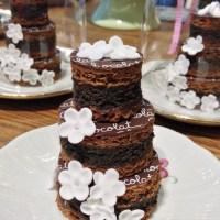 Les gâteaux de fête d'Elodie Martins en 5 minutes chrono {Jeu concours Pur Chocolat de Napolitain}