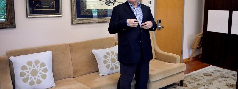 FILE PHOTO: U.S. based cleric Fethullah Gulen at his home in Saylorsburg, Pennsylvania, U.S. July 29, 2016.  REUTERS/Charles Mostoller/File photo