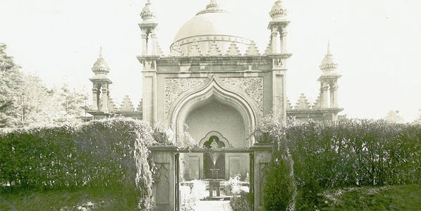 Early pictures of the Woking Ahmaddiya mosque
