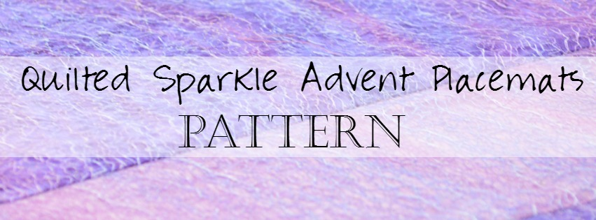 Quits Sewing Advent Placemats Catholic Pattern