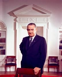 36th U.S. President LYNDON BAINES JOHNSON