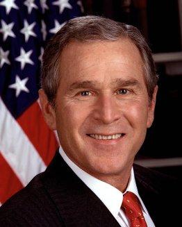 43rd U.S. President GEORGE W. BUSH
