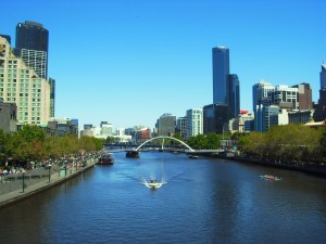 f australia-melbourne-yarra-river-river-bridge