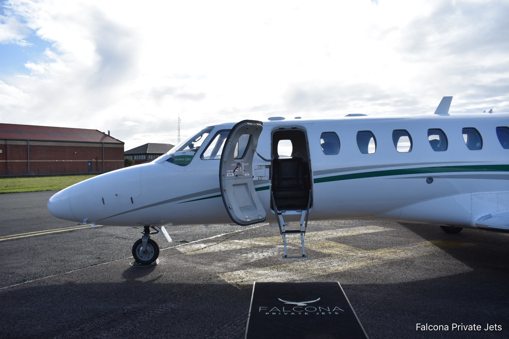 Flying To Blackpool Airport Falcona Private Jets 440