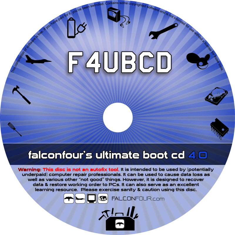 Falconfours Ultimate Boot Cd Usb 40 Falconfour39s