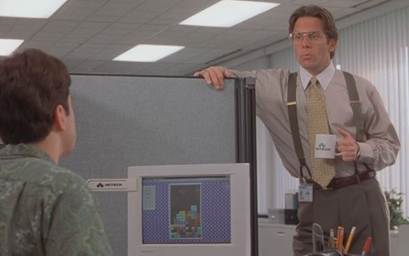 90 Minute Movies \u2013 Office Space (1999) #movies #comedy Falcon at