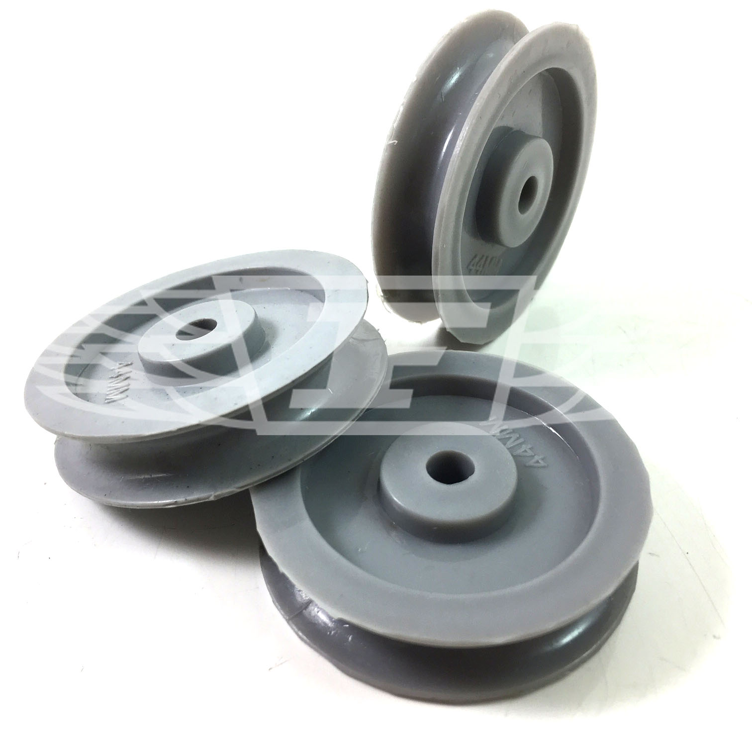Fabricant Fenetre Gray 44mm Grey Spare Nylon Pulley Wheels Sheaves Replacement