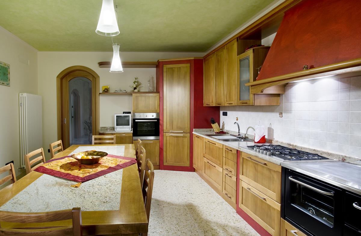 Cucina Noce | Cucina In Legno Noce Tiffany Arrex Le Cucine