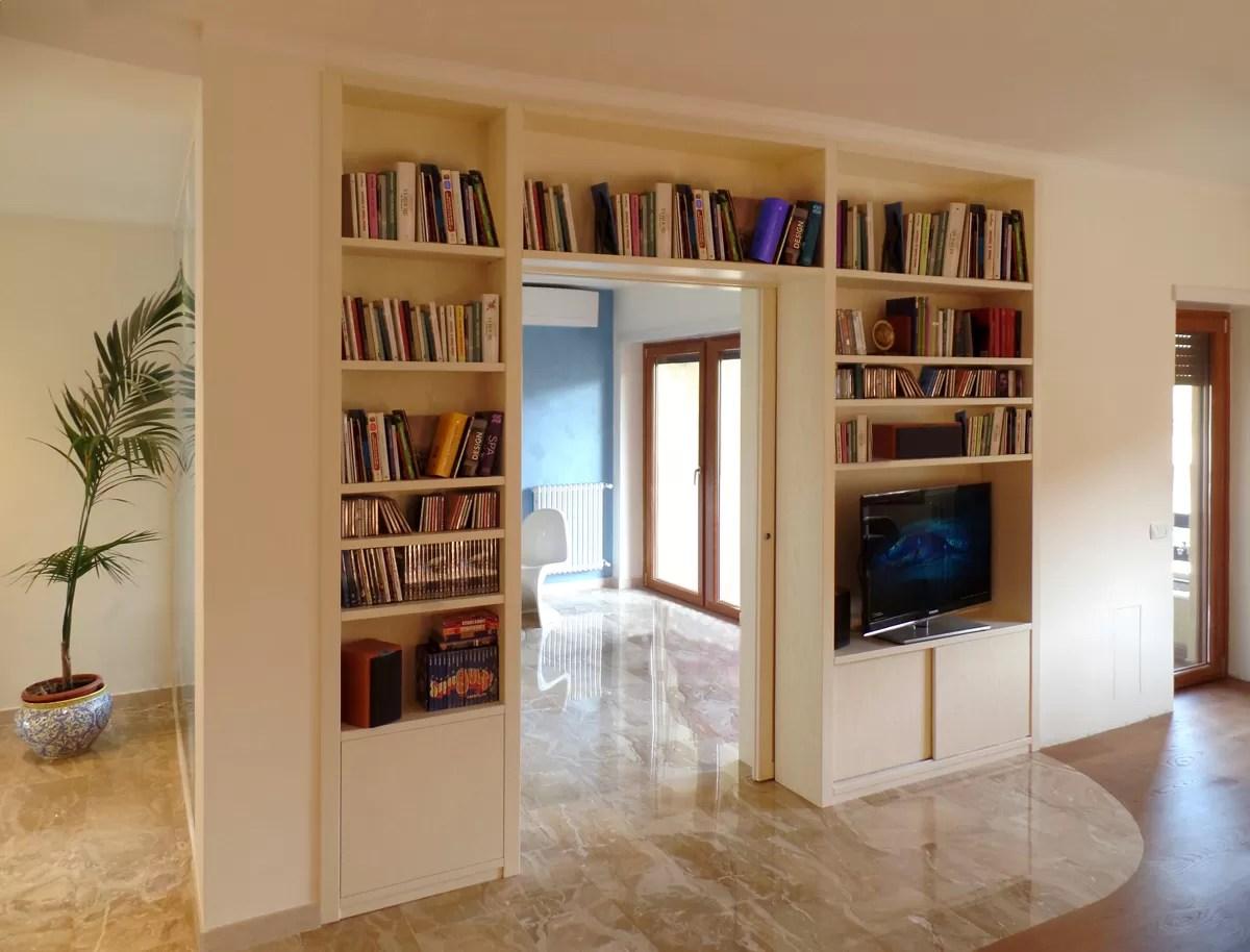 Parete Soggiorno Orion | Libreria Soggiorno Design Moderne Salon ...