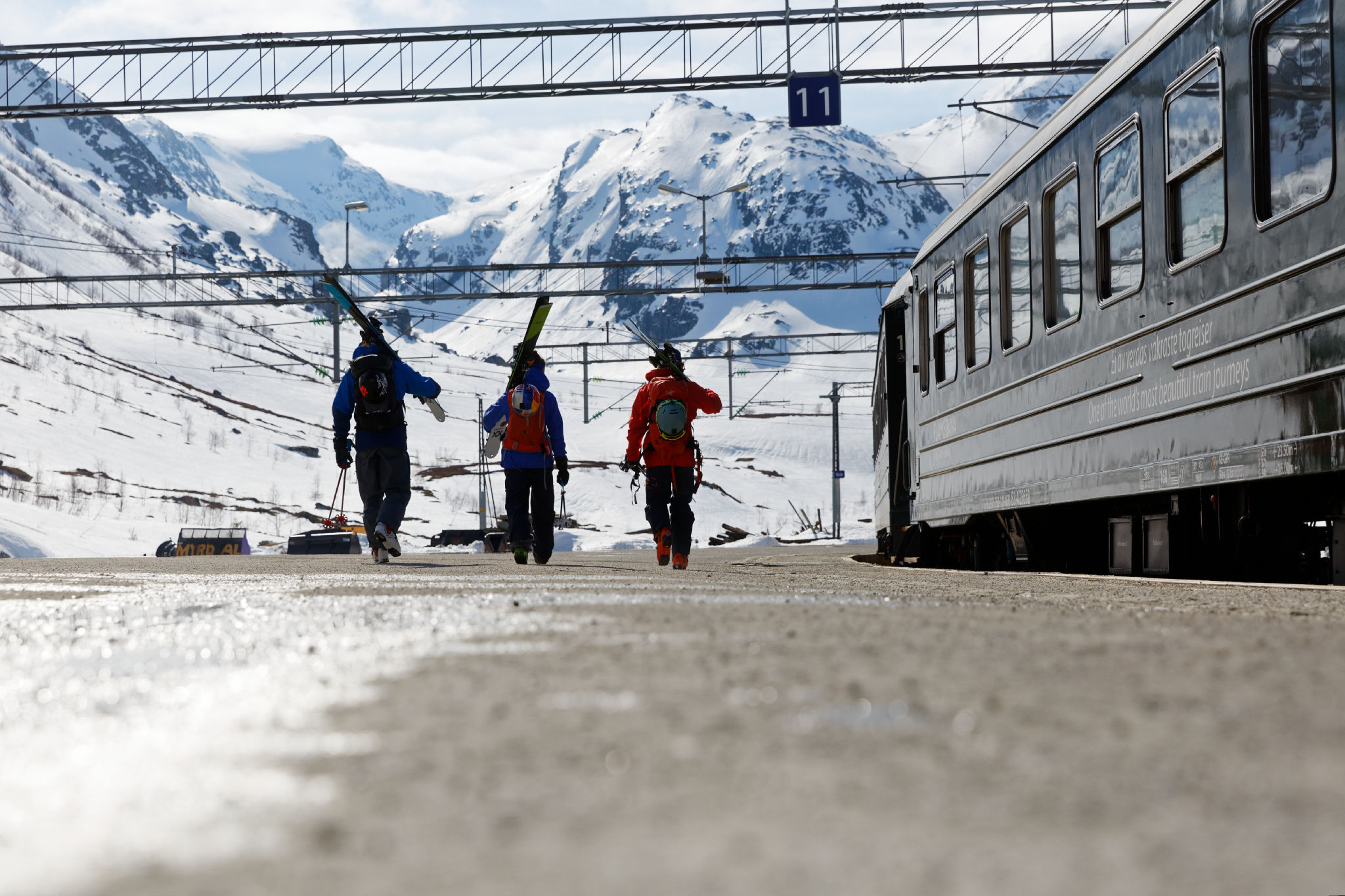 Norway Train The Best Way To Ski Tour Norway Is By Train