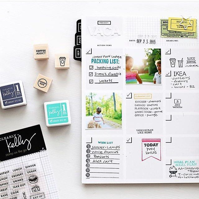 How to Pick the Perfect Planner One Goals (+free printables) - office newsletter