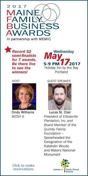 Institute for Family-Owned Business - 2017 Maine Family Business Awards