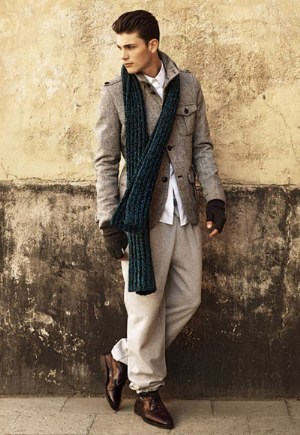 Winter Scarves For Men: H&M Winter Menstyle 2011
