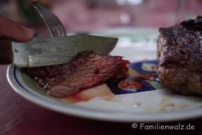 Barbecue im Hotel Tesoro, Pisco Elqui