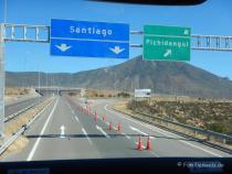 Von San Pedro nach Santiago