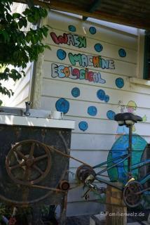 Fahrradbetriebene Waschmaschine-Fat Cat Travellers Community
