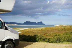 Ruakaka - erstes Campen auf der Nordinsel