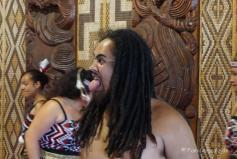 Museum Waitangi Treaty Grounds, Tanz der Maoris