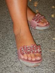 geschenkte Schuhe