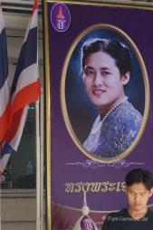 3 Tage Bangkok - Zwischen Raserei und Ruhe - Maha Chakri Sirindhorn, Prinzessin Thailands