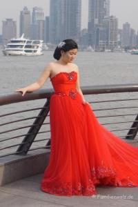 Shanghai - Willkommen in der Zukunft - Braut am Bund