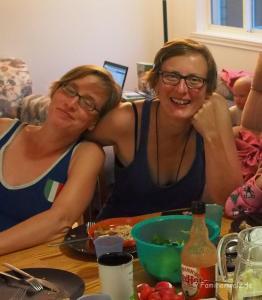 Zugfahren in Kanada und drei Jungfrauen in Alexandria - bei Carolyn & Chantal