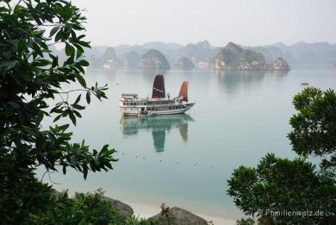 Halong Bucht, Blick von Ti Top Island