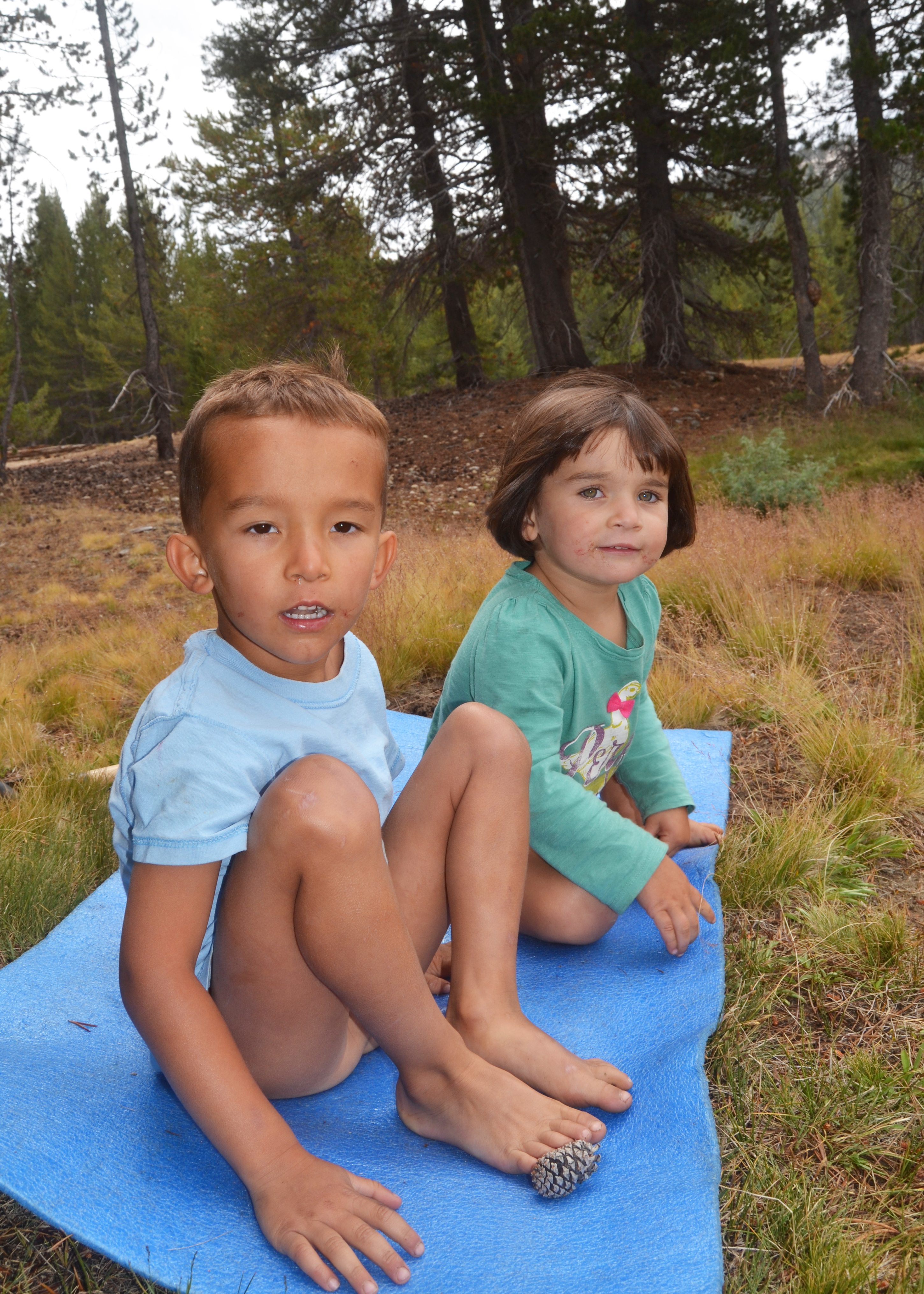 Rory and Caedryn, Yosemite, Summer 2012
