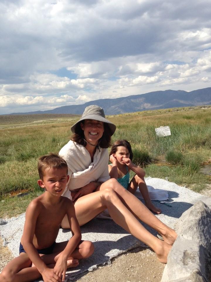 Hot Springs, Mammoth, Summer 2014