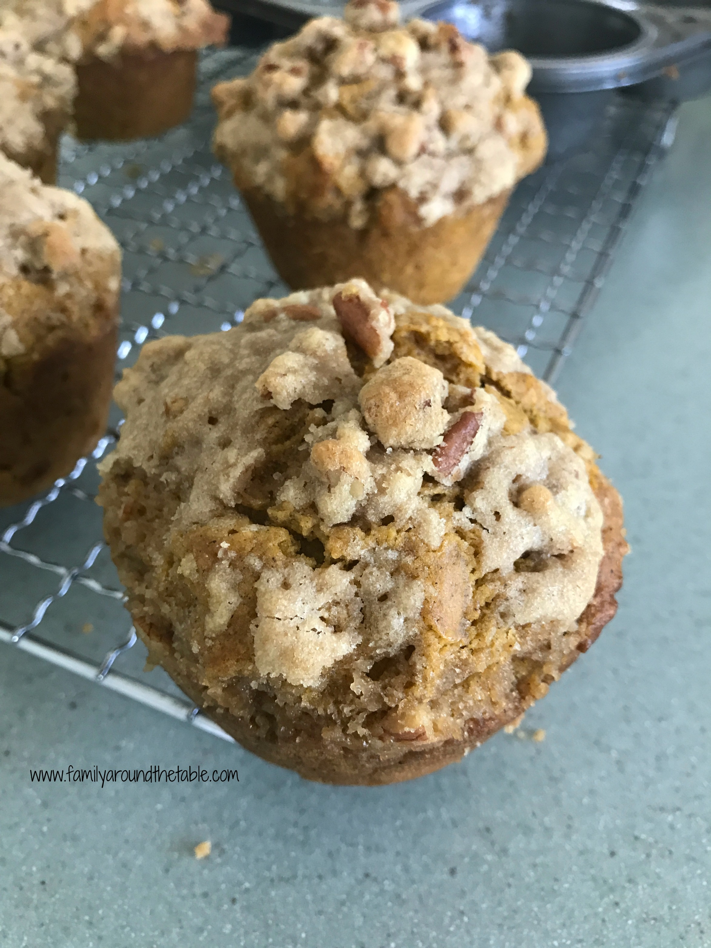 Barefoot Contessa Pumpkin Muffins Jumbo Pumpkin Spice Muffins With Streusel Topping Family Around