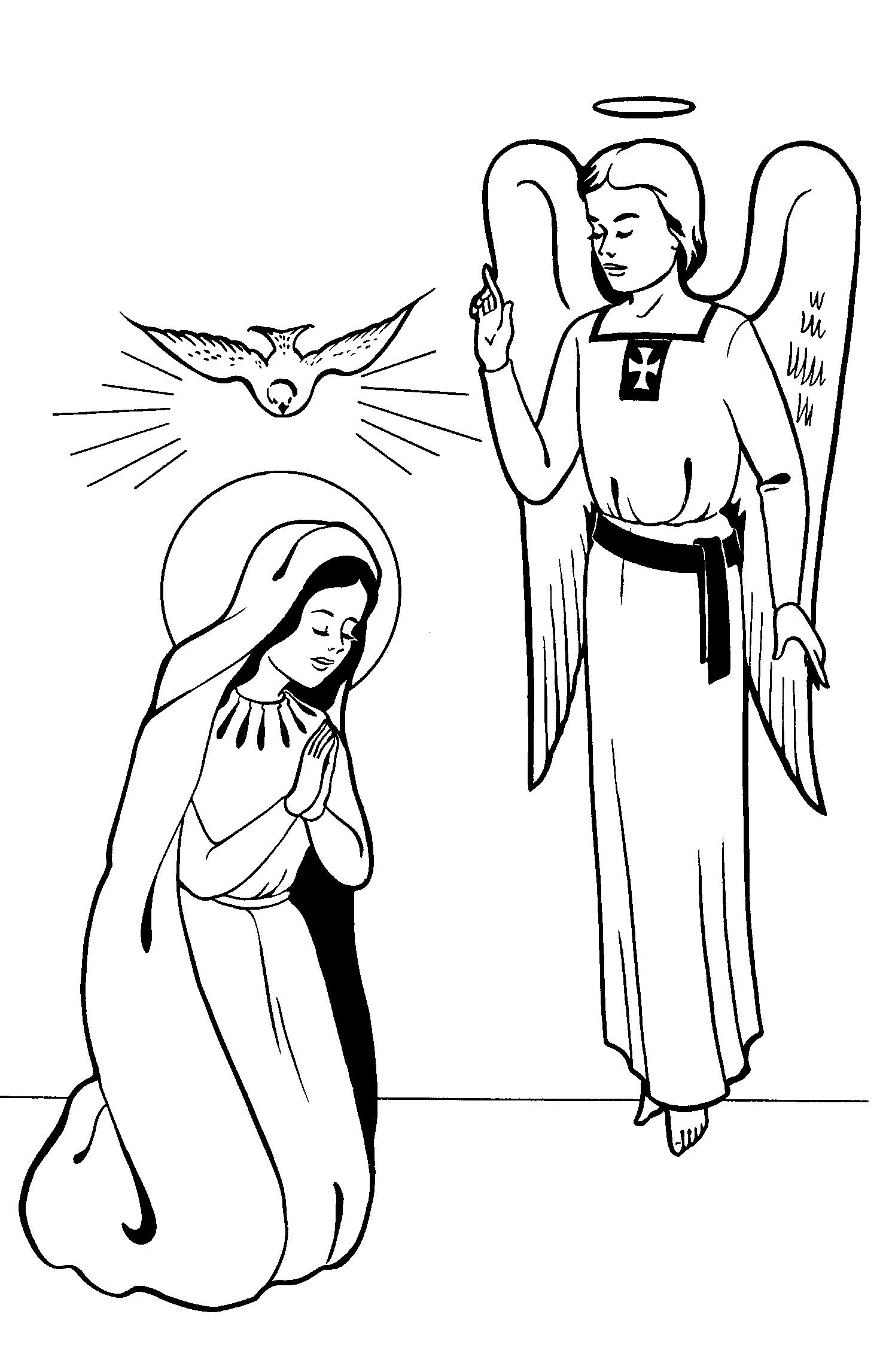Solemnity of the Annunciation, March 25