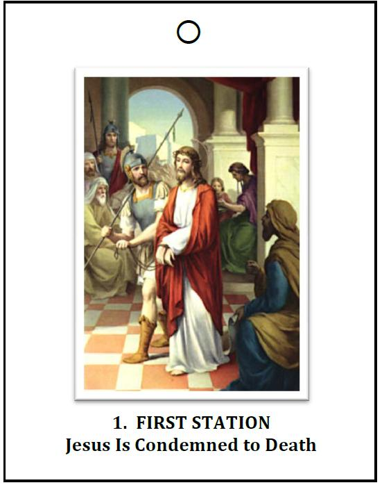 It's just a graphic of Universal Stations of the Cross Catholic Printable