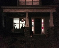 DIY Halloween Decor- Window Silhouettes | Family Focus Blog