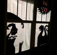 DIY Halloween Decor- Window Silhouettes | Family Focus Blog